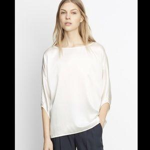 👚 Vince silk satin blouse